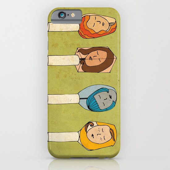 Some Girls Living In A Nailpolish iPhone & iPod Case