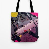 ghostbusters Tote Bags featuring Ghostbusters 2 by boneface