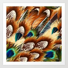 So feathers fashion Art Print