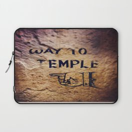 Way to Temple, 2015 Laptop Sleeve