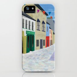 Streets of Galway, Ireland iPhone Case