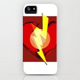 Broken heart iPhone Case