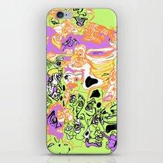 Snore-nado Warning iPhone & iPod Skin