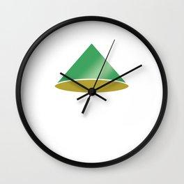 Isometric Form 2d Cone Geometric Shape Geometry Math Teacher Wall Clock