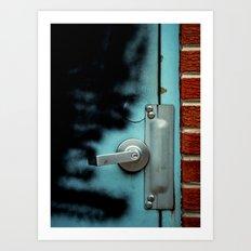 Door Art Print