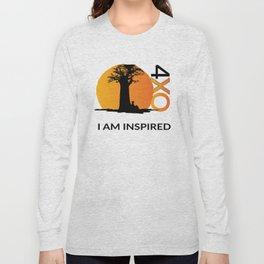 I AM INSPIRED Long Sleeve T-shirt