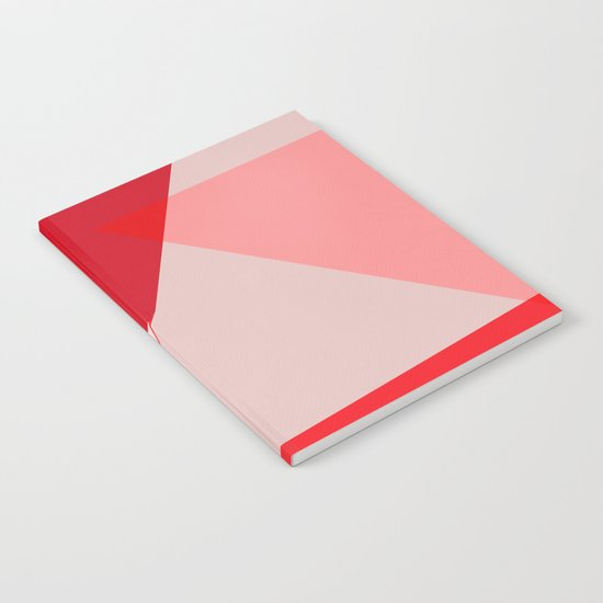 Geometric pink 02 Notebook