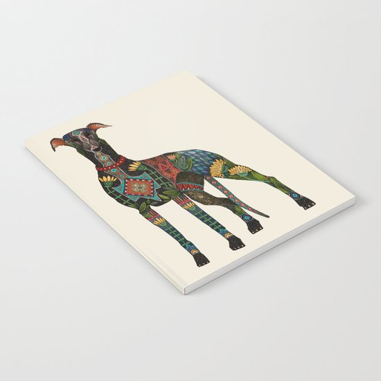 greyhound ivory Notebook