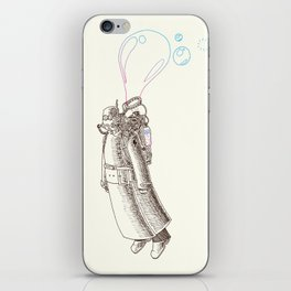 Dystopian Flying Devices iPhone Skin