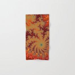Crimson Alley - Fractal Art Hand & Bath Towel