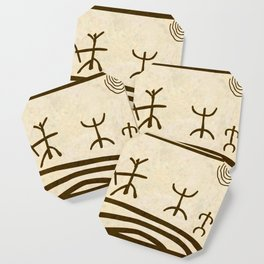 Ethnic 3 Canary Islands Coaster