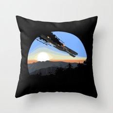 Interstellar Tragedy Throw Pillow