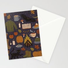 Autumn Nights Stationery Cards