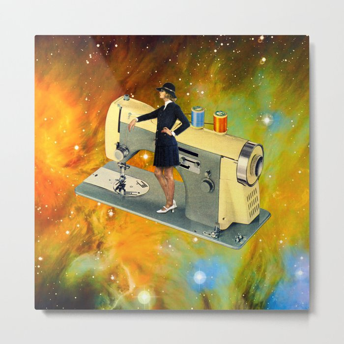 Barbara's Spaceship Metal Print