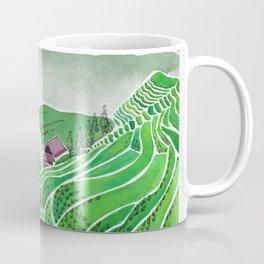 Terraced Rice Paddy Fields Coffee Mug