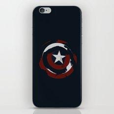 Cap's Shield iPhone & iPod Skin