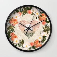 Love More Wall Clock