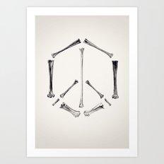 Peaces Art Print