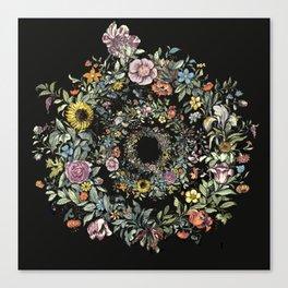 Circle of Life Dark Canvas Print