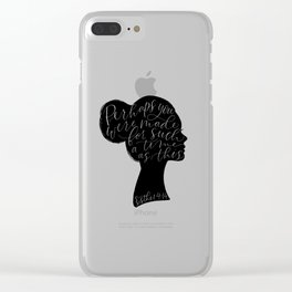 Esther 4:14 For Such a Time as This Clear iPhone Case