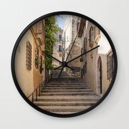 Town Street Wall Clock