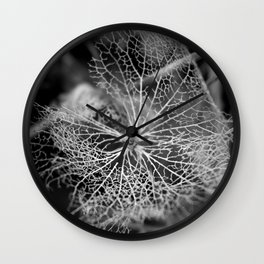 Fluid Nature - Beauty in Decay Wall Clock