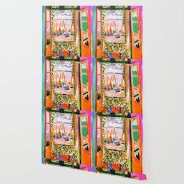 Henri Matisse Open Window Wallpaper