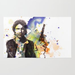 Han Solo From Star Wars  Rug