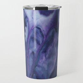 floating violets Travel Mug