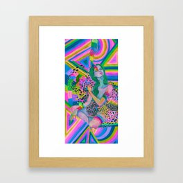 your mind is a box of crayons Framed Art Print