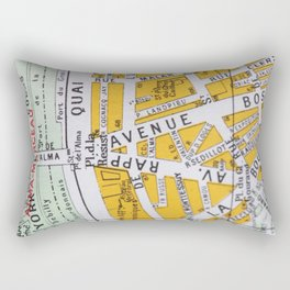 Paris Streets 3 Rectangular Pillow