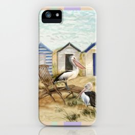 Winter Sun iPhone Case
