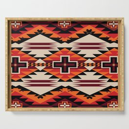 American Native Pattern No. 220 Serving Tray