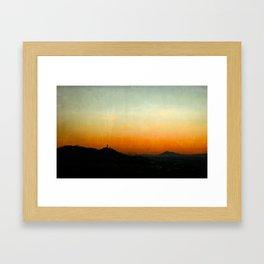 Protagonist I Framed Art Print
