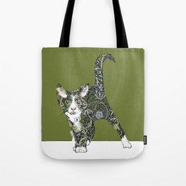 William Morris cat Tote Bag
