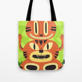 Totem Cat Tote Bag