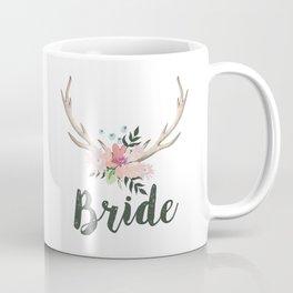 Bride Antlers Coffee Mug