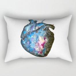 Galaxy heart Rectangular Pillow