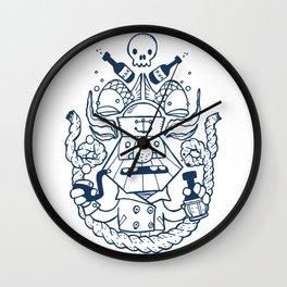 Captain Badass Wall Clock