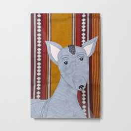 Mexican Hairless Dog Metal Print