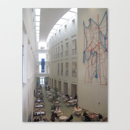 UMASS Boston Atrium Canvas Print