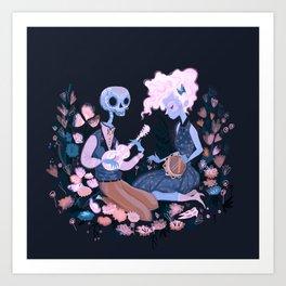 Rhythm of Grief Art Print