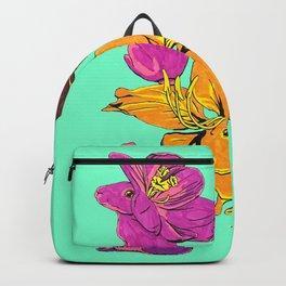 Flower Bunnies Backpack