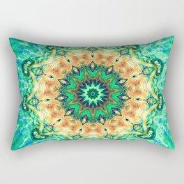 Turtle Kaleidoscope Rectangular Pillow