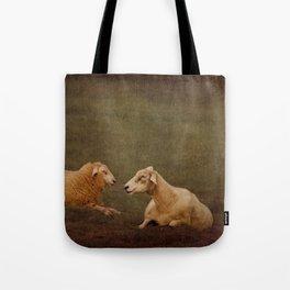 The smiling Sheeps Tote Bag