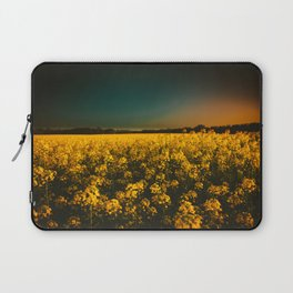 Yellow Fields Laptop Sleeve