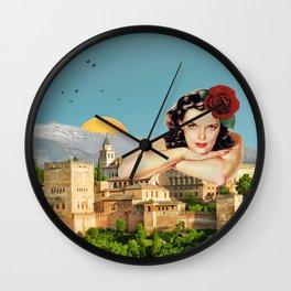 MI ALHAMBRA  Wall Clock