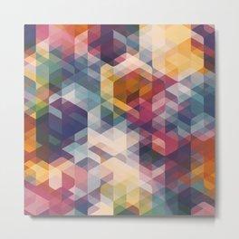 Cuben Curved #8 Metal Print