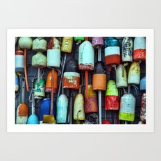 Float on a wall, Cape Cod Art Print