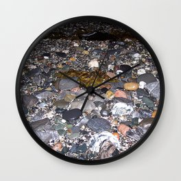 Pebble Beach Wall Clock